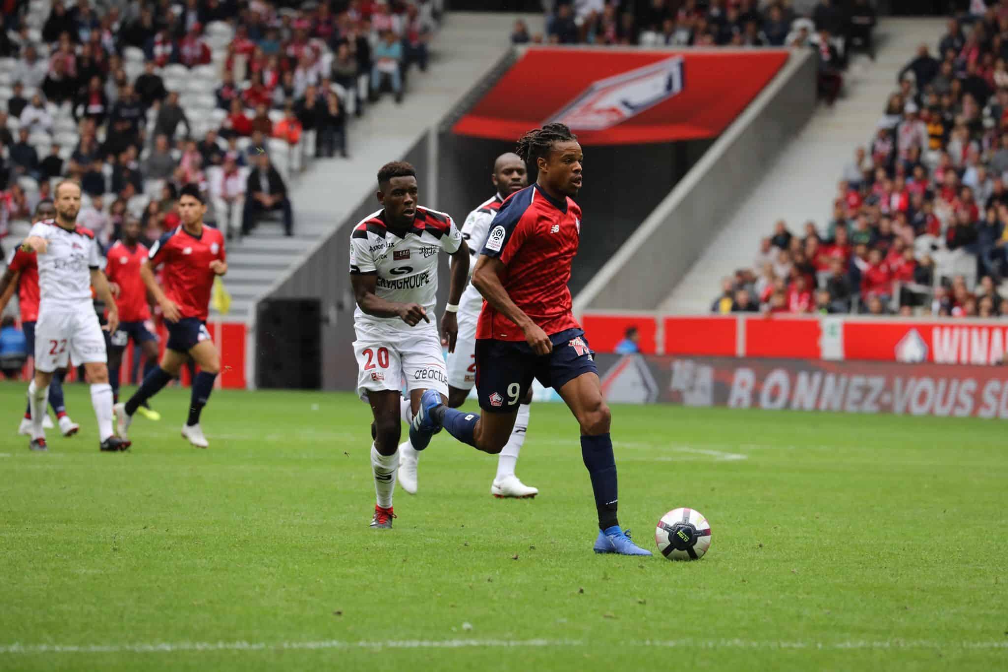 Ligue 1: le Losc impressionne face à Guingamp