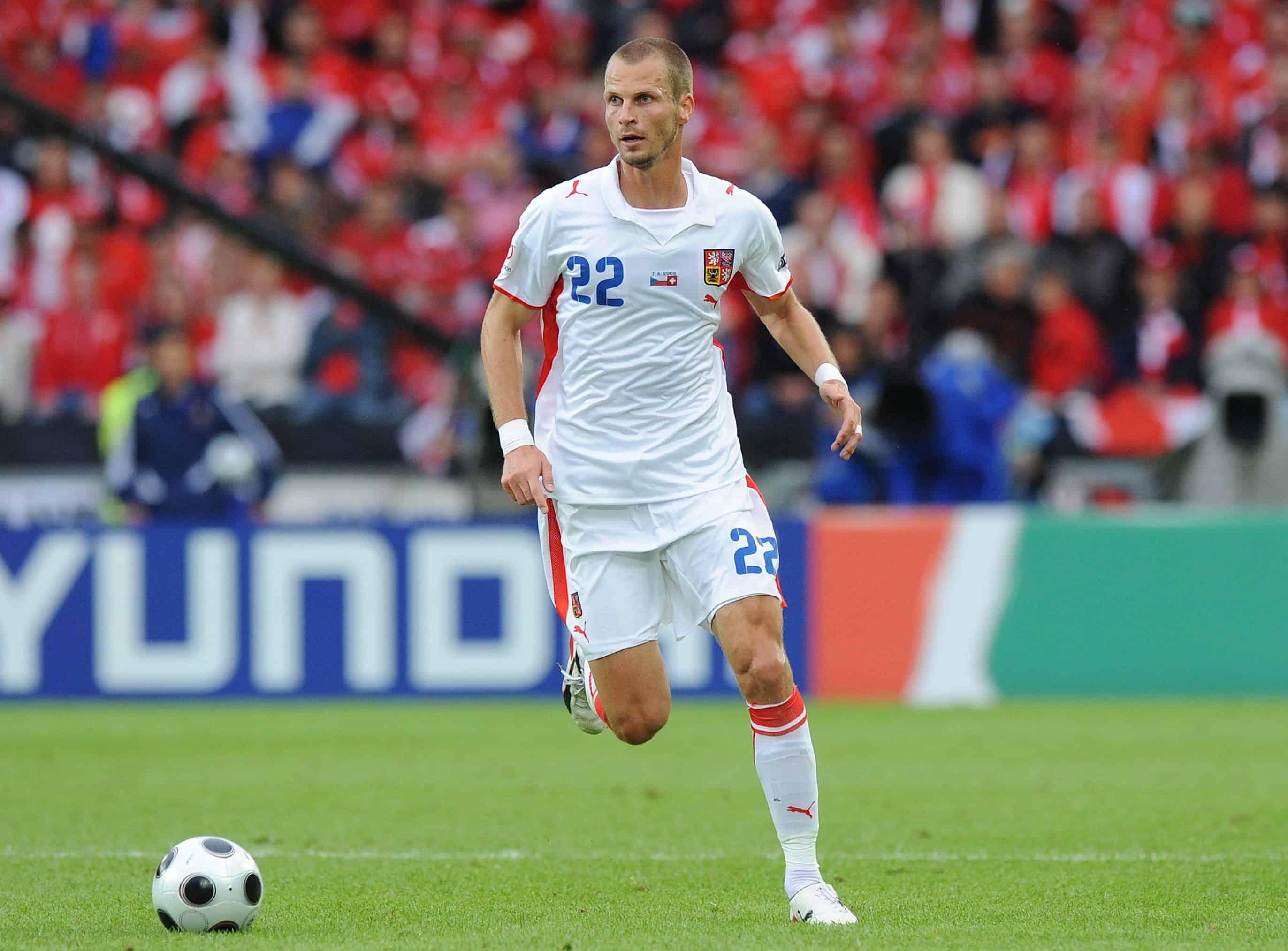 David Rozehnal Tschechien EURO 2008 Vorrunde Schweiz - Tschechien