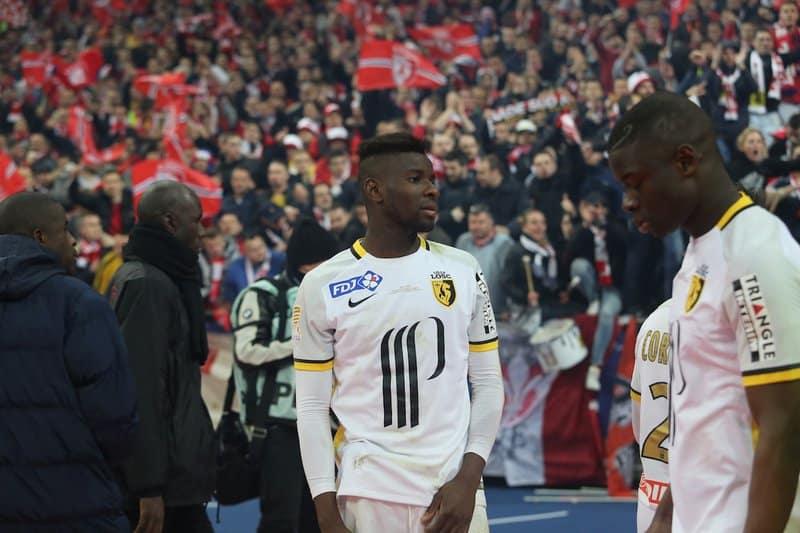 Psg vs losc lille finale coupe de la ligue 2016 stade de france photo laurent sanson - Stade de france coupe de la ligue ...