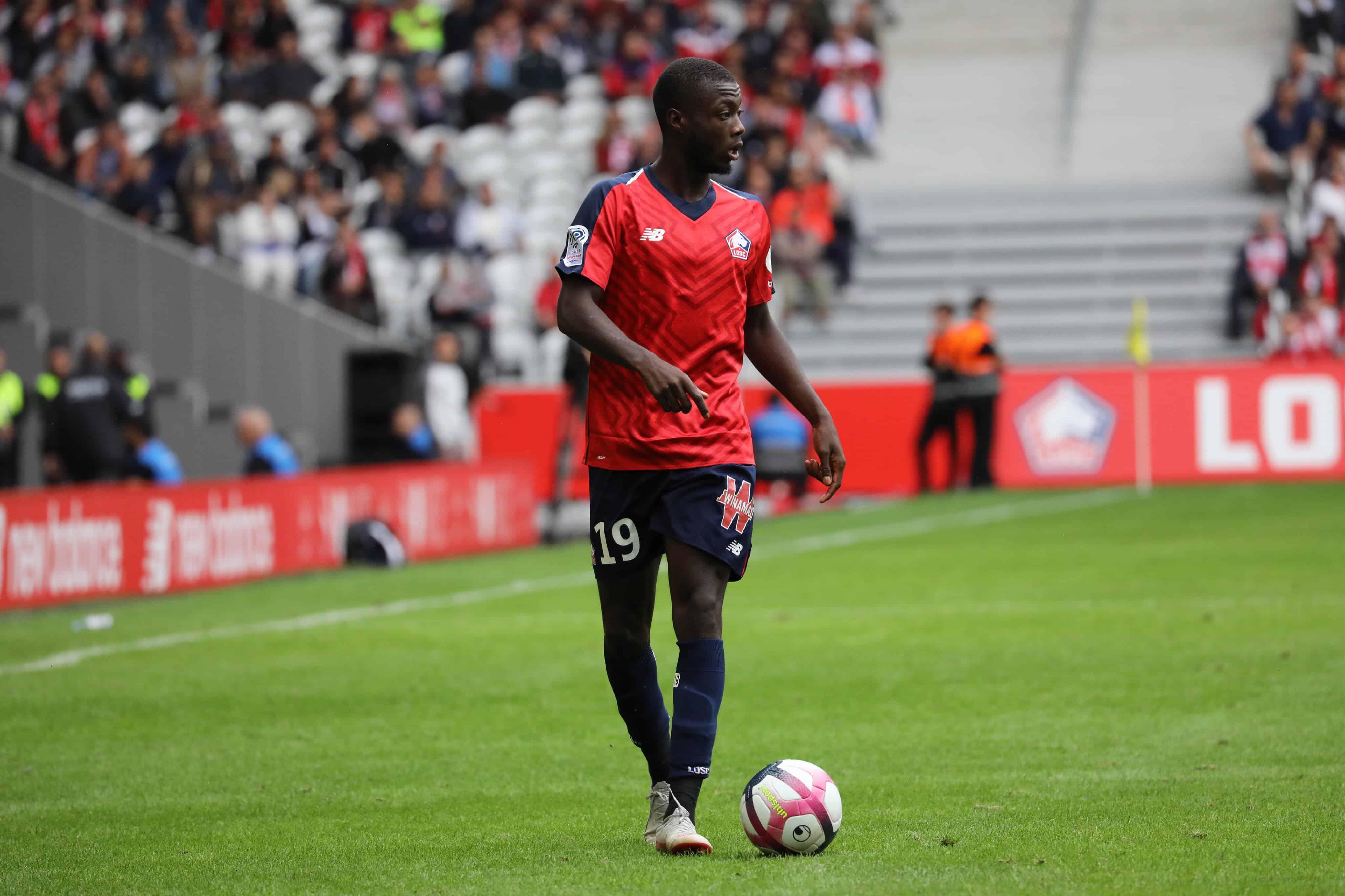 Resultado de imagen para Nicolas Pépé 2019